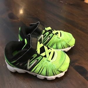 Used toddler boys new balance shoes
